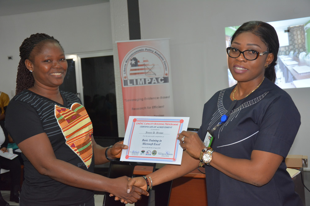 Graduation of LIMPAC Phase I Capacity Building Training