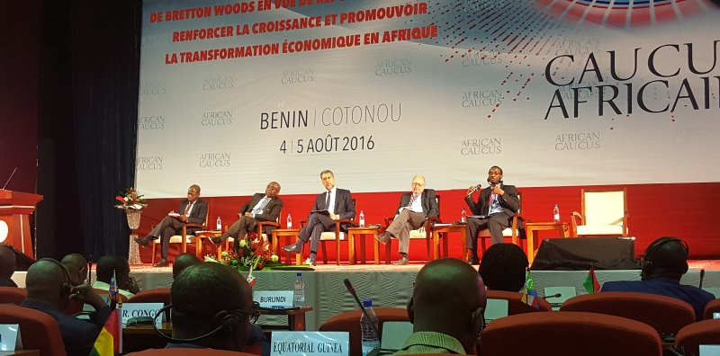 African Caucus Meeting Benin, Cotonou 4 -5 August 2016