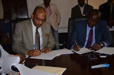 GoL sign's 25 million grant agreement with the United States Agency for International Development (USAID)