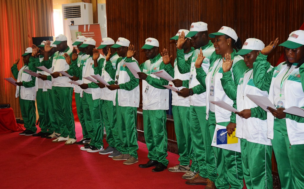 ECOWAS Volunteer Induction Ceremony