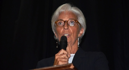 IMF Managing Director Speaking at Town Hall Meeting Held during her Official Visit to Liberia