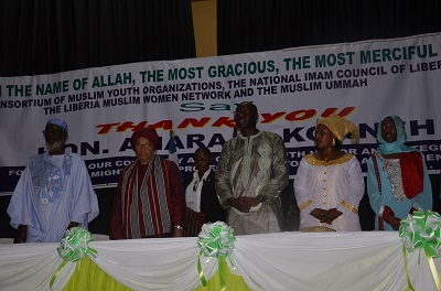 Liberia's Islamic Community Bid Farewell to Former Finance and Development Planning Minister;Gather in Mass and Showered Him with Countless Praises and Prayers!