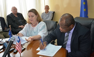 Signing of Two Financing Agreements Opens New Partnership Perspectives Between The European Union And Liberia