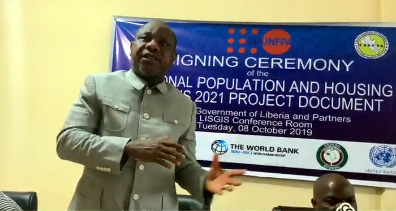 Finance Minister Encourages Gov't Officials to Collectively Own Census Exercise; As LISGIS, Partners Sign 2021 NPHC Document
