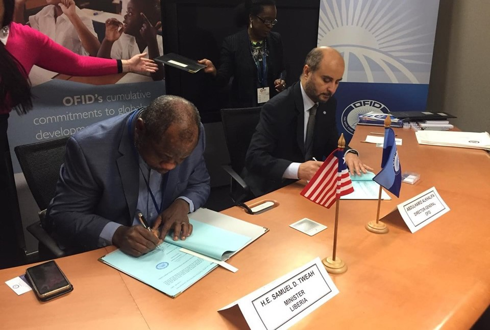Liberia's Secures Financing for Tappita, Konia Highways Projects; As Minister, Tweah Makes Liberia Case in Washington