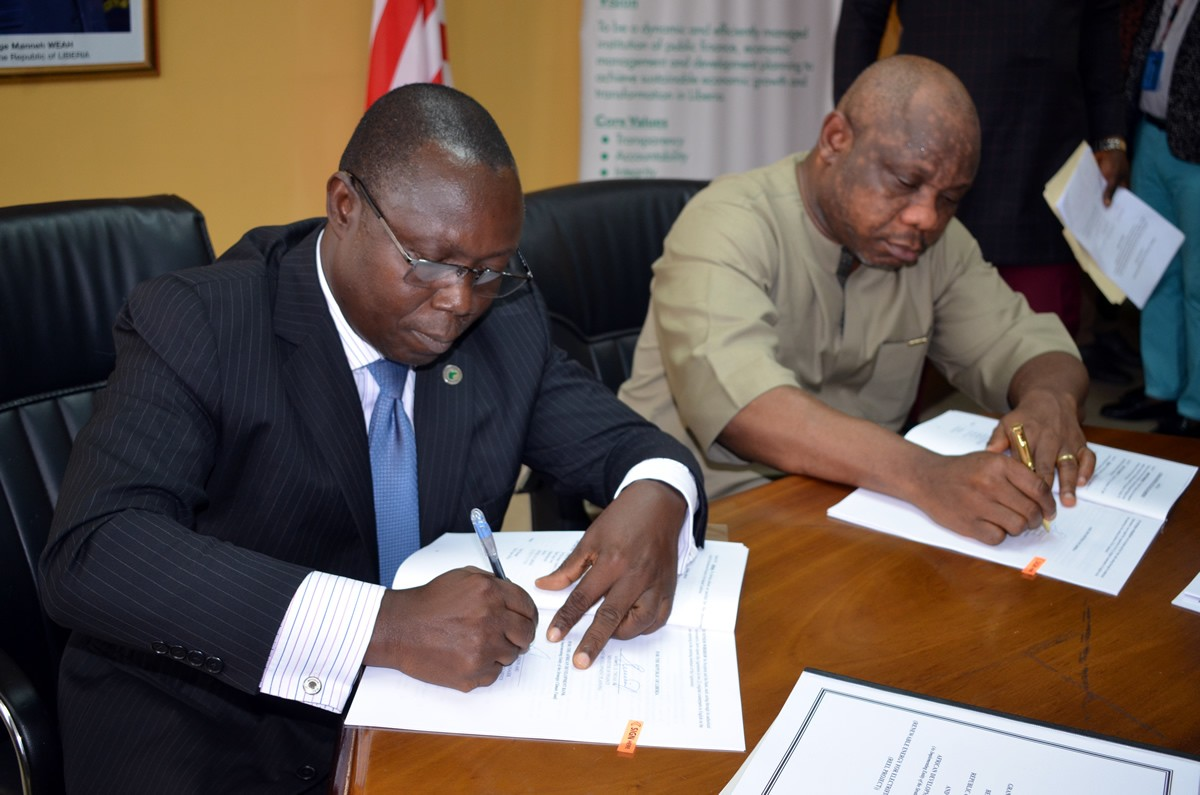 GoL, AfDB Sign Financing Agreements for Hydro Power Plant in Nimba and Investment Promotion Projects