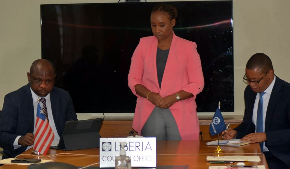 Liberia, World Bank Sign US$40 Million Budget Support